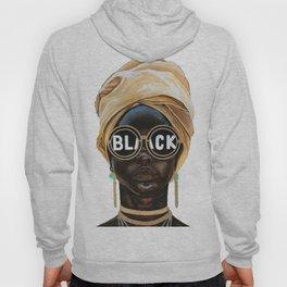 Black Woman Hoody