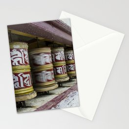 Prayer Wheels Stationery Cards