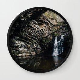 NC Waterfalls - Hanging Rock State Park Wall Clock