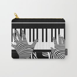 B&W Pianist Carry-All Pouch