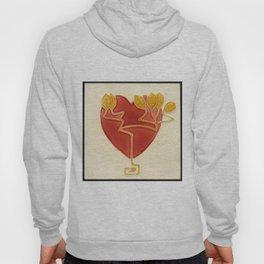 Art Nouveau Heart Hoody