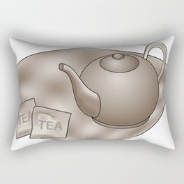 Vintage Tea time Rectangular Pillow
