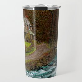 A Secluded View Travel Mug