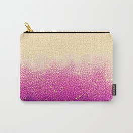 Pinkish Peachish Bubbles Carry-All Pouch