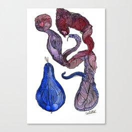 Mytho Mane/Logie Canvas Print