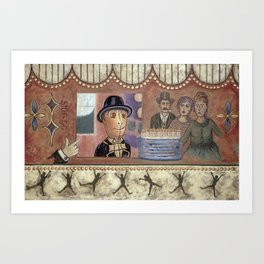 Envy and Surprise Art Print
