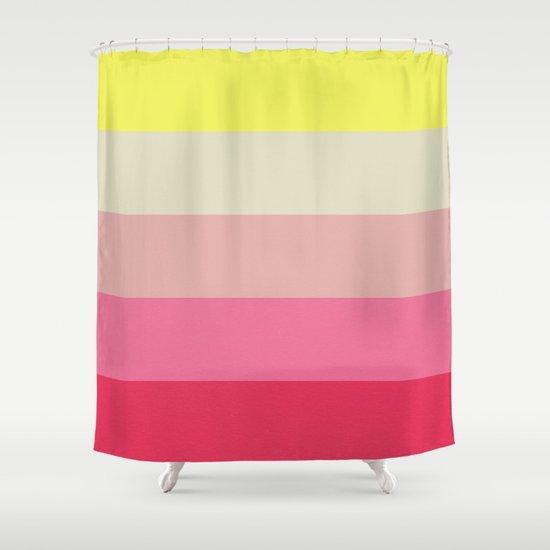 mindscape 3 Shower Curtain