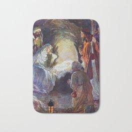 Birth of Jesus Bath Mat