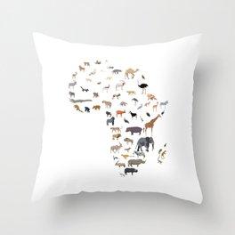 Wild Africa Throw Pillow