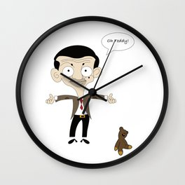 Oh Teddy! Wall Clock