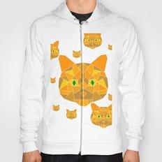 Geometric Cat Hoody