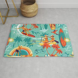 Hawaiian resort Rug