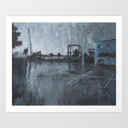 Dana Point Ship Yard Art Print