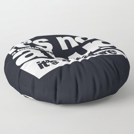 Bug or feature Floor Pillow