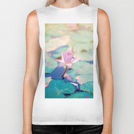 water lily Biker Tank