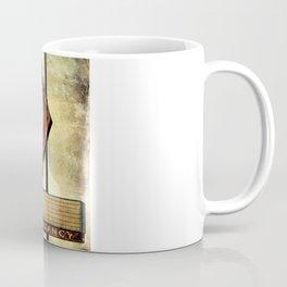 Vintage Arrow Motel Sign Coffee Mug