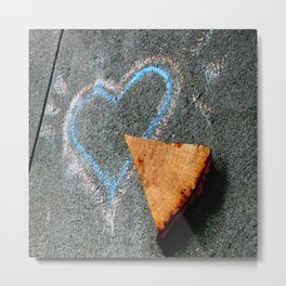Take Another Little Pizza My Heart Metal Print