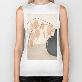 Branches in the Vase Biker Tank