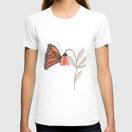 Monarch garden 001 T-shirt