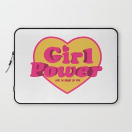 Girl Power Logo Laptop Sleeve
