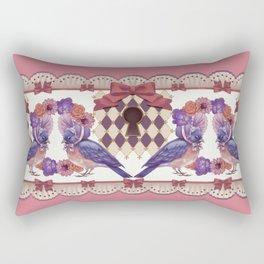 Curiouser Journey Rectangular Pillow