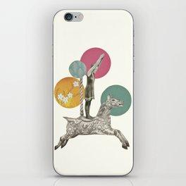 Runaway Horse iPhone Skin