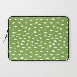 Greenery Petals Pattern Laptop Sleeve