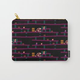 Donkey Kong Retro Arcade Gaming Design Carry-All Pouch