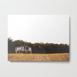 Rustic Shed landscape Metal Print