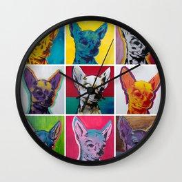 Chihuahuas Wall Clock