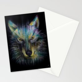 wolf_1 Stationery Cards