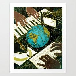 ARTS & CULTURE Art Print