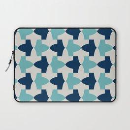 Alhambra Motif Blue Palette Laptop Sleeve
