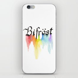 Bifrost the road to Valhalla iPhone Skin