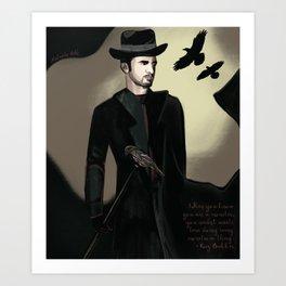 Six of Crows : Kaz Brekker Art Print