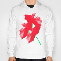 poppies Hoodies featuring Poppies by Vitta
