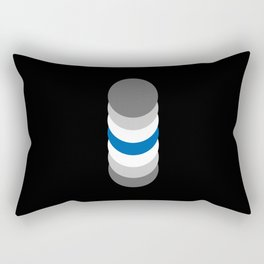 Graygenderism in Shapes Rectangular Pillow