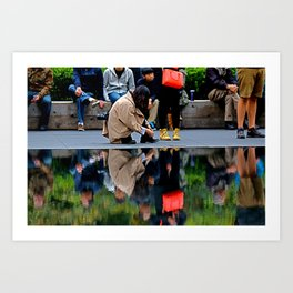 Millennium Park Art Print