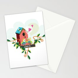 Love is. Stationery Cards