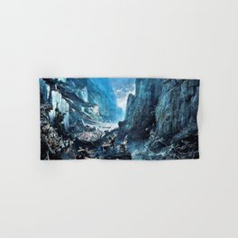 12,000pixel-500dpi - Gustave Dore - Roland1 at Roncevaux - Digital Remastered Edition Hand & Bath Towel