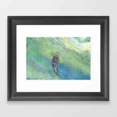 Snorkel Framed Art Print