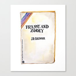Franny and Zooey Canvas Print