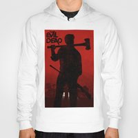 evil dead Hoodies featuring The Evil Dead by Bill Pyle