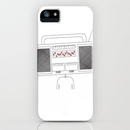 Ghetto Head iPhone Case