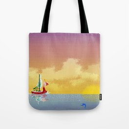 Pixelized : Wind Waker  Tote Bag