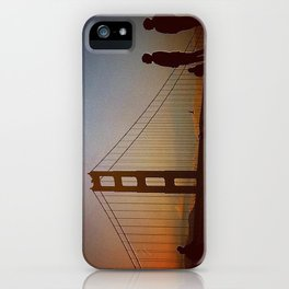 Golden Gate Bridge at Sunset iPhone Case