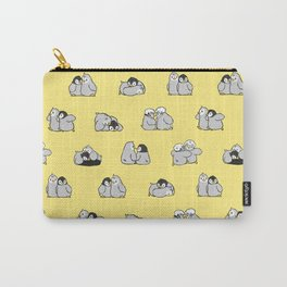 baby penguin print Carry-All Pouch