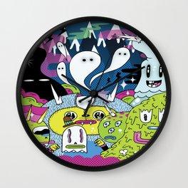 Spooky Spirits  Wall Clock