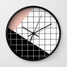 Minimal Geometry Wall Clock