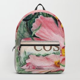 Cosmos Seed Packet Backpack